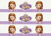 Papel Arroz Princesa Sophia Faixa Lateral A4 011 1un