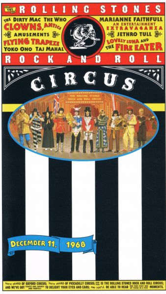 VHS - The Rolling Stones Rock and Roll Circus