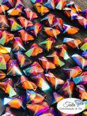 Pedra Trapezio topaz aB 50 unidades 6mm, Otima qualidade AAA Similar a Cristal