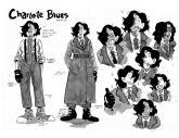 Arte original do primeiro design da personagem