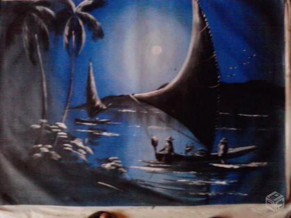 Pintura em Telas de Marina