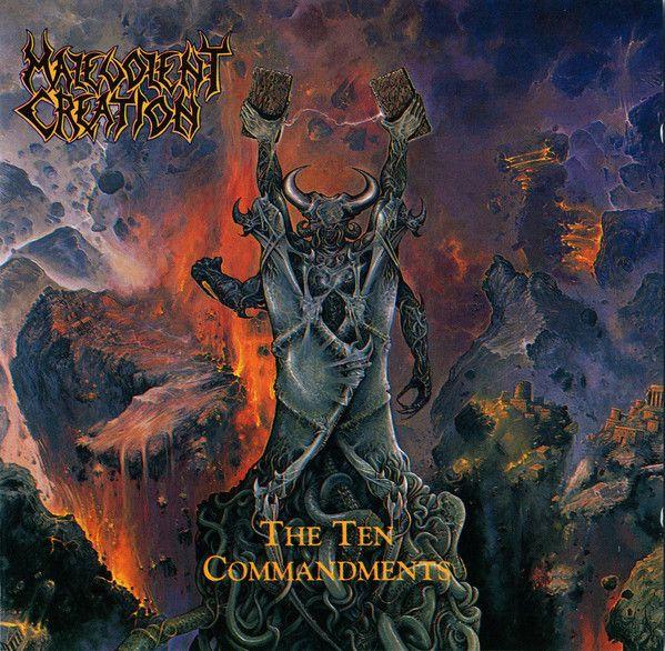 Malevolent Creation - The Ten Commandments CD-duplo deluxe