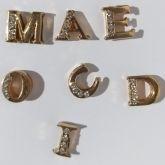 **Letra A Dourada