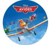 Papel Arroz Aviões Redondo 008 1un