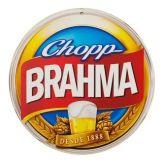 Placa Redonda Para Decoração Bar Boteco Cerveja Brahma
