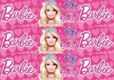 Papel Arroz Barbie Faixa Lateral A4 009 1un