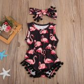 Body + Faixa Flamingo