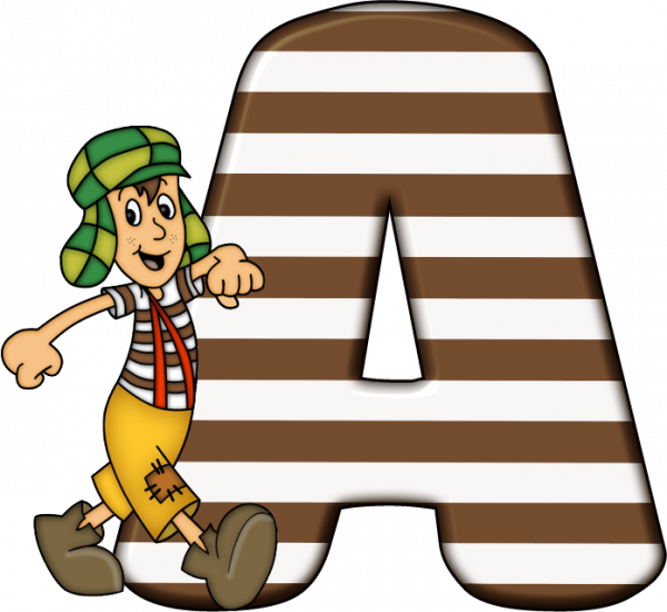 Alfabeto - Chaves 2 - PNG