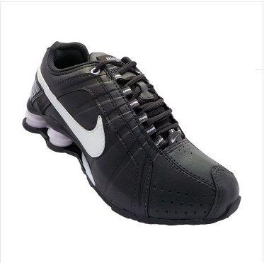 01af5bef00c Nike Shox Junior Preto e Branco - TECNOSTILLUS