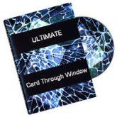 Ultimate Card thru window - DVD-R  #1165