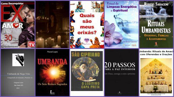 Curso e-book Sequência - Umbanda Rituais - 07 reinos - Fluidos - Paz interior (+ brindes bônus)