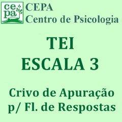 03.04 - TEI - Teste Equicultural de Inteligência - Escala 3 - Crivo de Apuração p/ Fls. de Respostas