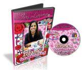 DVD Flores de Scrapbooking - Ivy Larrea