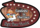 Placa Decorativa Cantinho Do Churrasco Recorte Mdf 6mm