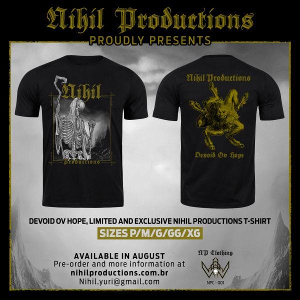 Camiseta Devoid Ov Hope (P)