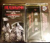 BLASPHEMY - Desecration of Belo Horizonte - Live in Brazilian Ritual Fifth Attack - CASSETE (Black)