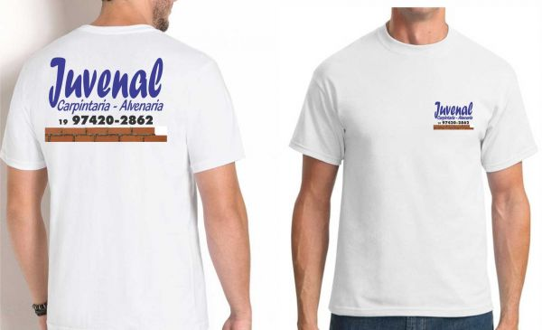 Camiseta Frente e Costas