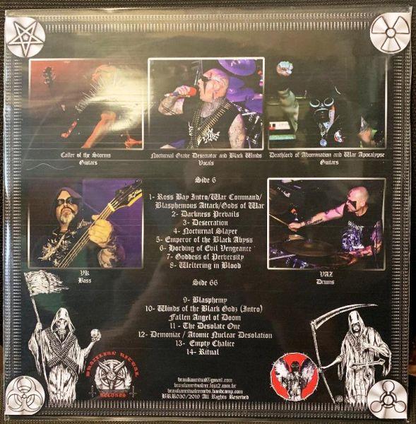 BLASPHEMY - Desecration of Belo Horizonte - Live in Brazilian Ritual Fifth Attack - LP (Black LP + B