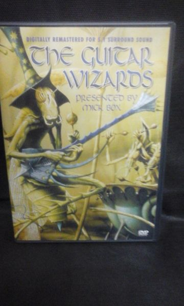 DVD - The Guitar Wizards - Presented by Mick Box