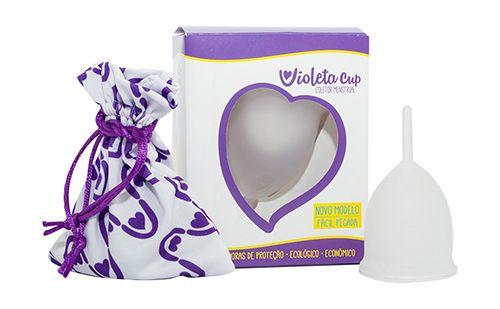 Violeta Cup - Tamanho A - Incolor