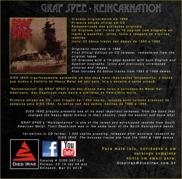 GRAF SPEE - Reincarnation (CD)