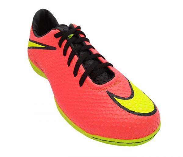 78aa548544254 Chuteira Futsal Nike Hypervenom Salmão MOD 11833 - tudo barato ...