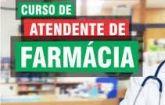 Curso Atendente de Farmácia com Certificado Válido em todo Brasil