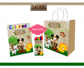 Kit Sacolinha Mickey Safari