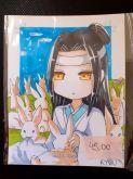 Sketchcard  Lan Wangji