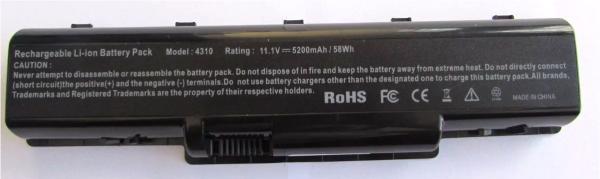 Bateria Acer Aspire 4732z 4720 4920 4310 5740 2930 Z01 Nova