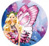 Papel Arroz Barbie Redondo 005 1un