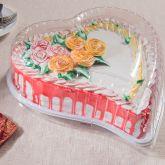 G 50H Torta Coração Pequeno 1,5kg 1un