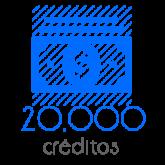 20,000 Moedas