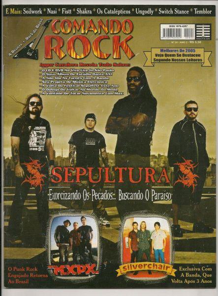 Revista - Comando Rock - Nº24