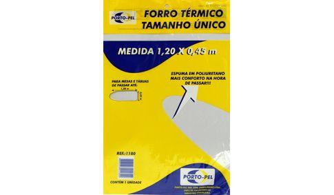 Cod 1180 Forro Metal s/espuma unico 1,20x0,45m