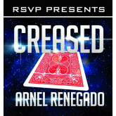 Creased (DVD and Gimmick) by Arnel Renegado - DVD-R 1212
