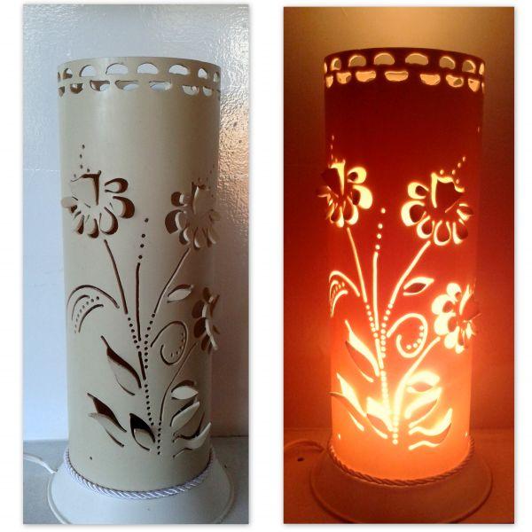 Luminaria Em Pvc Flores 3d046d Traco De Luz Luminarias E