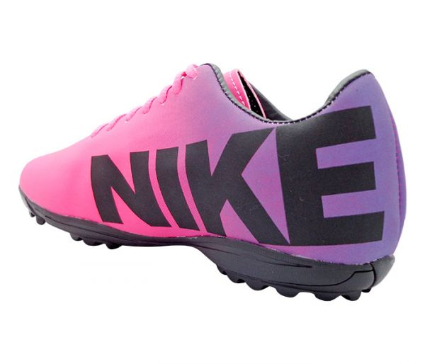 Chuteira Society Nike Mercurial Roxo e Pink - App Box 156cf62cf1cca
