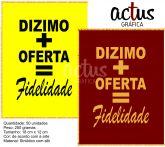 Saquitel Dizimo + Oferta