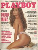 PLAYBOY MAGAZINE BRAZIL # 198 - ROSANA MUNIZ (4) -  JAN 1992 HOT!!