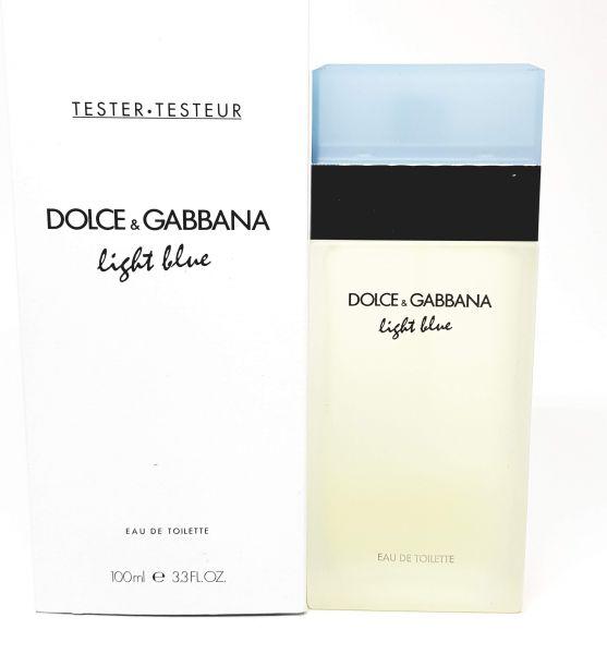 Tester Perfume Light Blue  Feminino   edt  dolce Gabanna (TESTER)