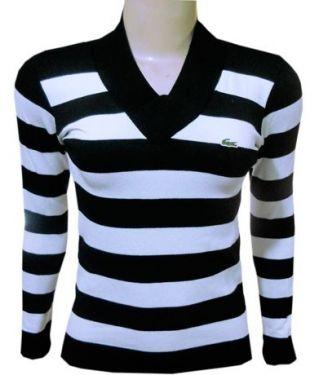 7fb9334ca45dd Blusa de Lã Lacoste - Feminina - revenda camiseta WHATS 0419870-1527