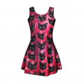 Dress Black Cat