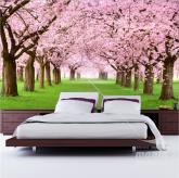 Adesivo de Parede Cerejeiras
