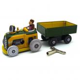 Mini Trator De Ferro 14cm