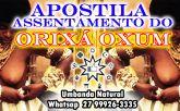 APOSTILA ASSENTAMENTO ORIXÁ OXUM