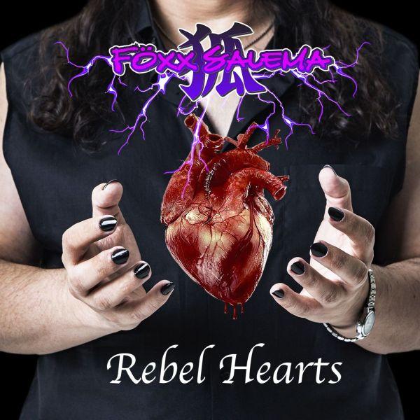 FÖXX SALEMA  - Rebel Hearts - Digipack CD