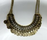 colar gypsy ouro velho