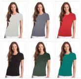 Camiseta Feminina Lisa Baby look - 10  Peças