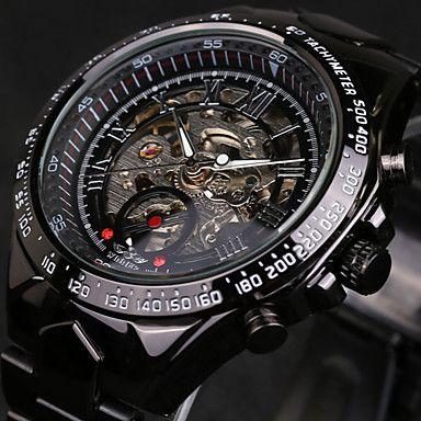 fc7d64db35898 Relógio de Pulso Masculino de Corda Automática a Prova d´agua - FRETE GRÁTIS